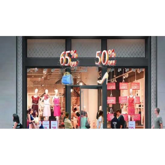 3D Холограмен рекламен дисплей LED прожектор 55см