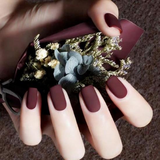 Луксозни изкуствени нокти за маникюр за изящни и стилни дами - модел NK025