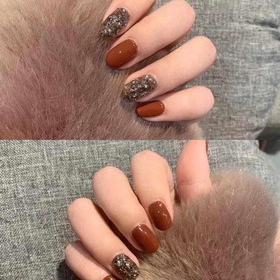 Луксозни изкуствени нокти за маникюр за изящни и стилни дами - модел NK028