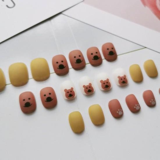 Луксозни изкуствени нокти за маникюр за изящни и стилни дами - модел NK041