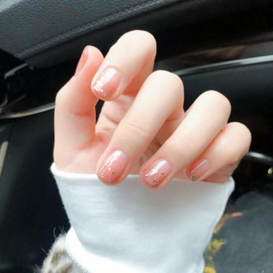 Луксозни изкуствени нокти за маникюр за изящни и стилни дами - модел NK049