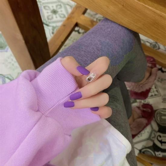 Луксозни изкуствени нокти за маникюр за изящни и стилни дами - модел NK038