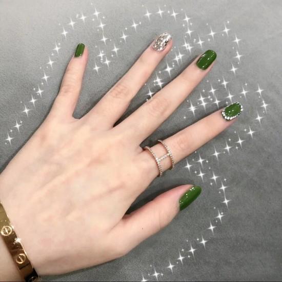 Луксозни изкуствени нокти за маникюр за изящни и стилни дами - модел NK048