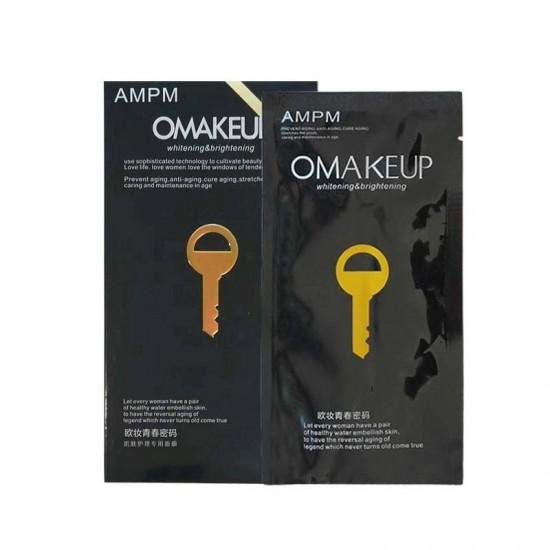 VIP маска за лице против бръчки със стягащ, подмладяващ и тoнизиращ ефект OMAKEUP - 5бр. в кутия