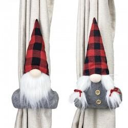 Коледна декорация държач за пердета