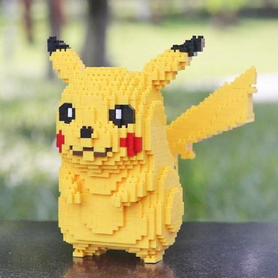 3D пъзел блокчета тип лего Pikachu,5200 части