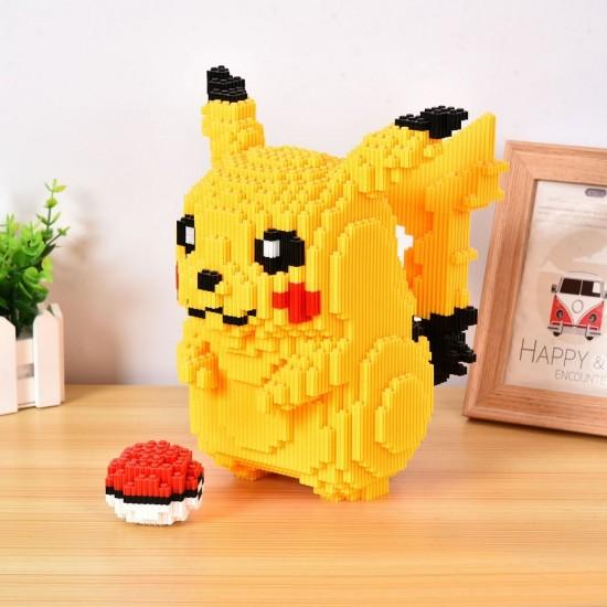 3D пъзел блокчета тип лего Pikachu Pokemon
