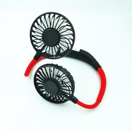 Мини електрически вентилатор за врата с USB