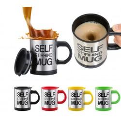 Саморазбъркваща се термо чаша за кафе