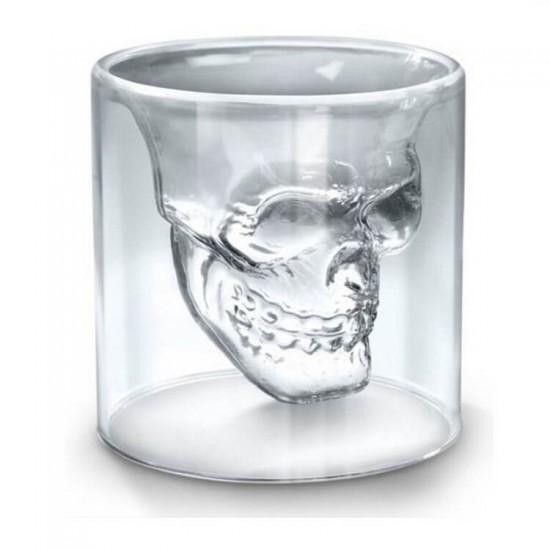 Чаша с форма на череп - 4бр.