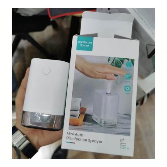 Мини дозатор за дезинфектант с фотоклетка на едро