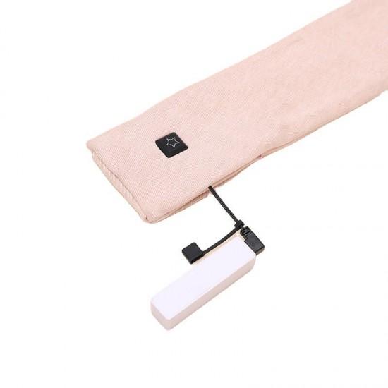 Електрически затоплящ USB шал с батерии и регулиращо загряване