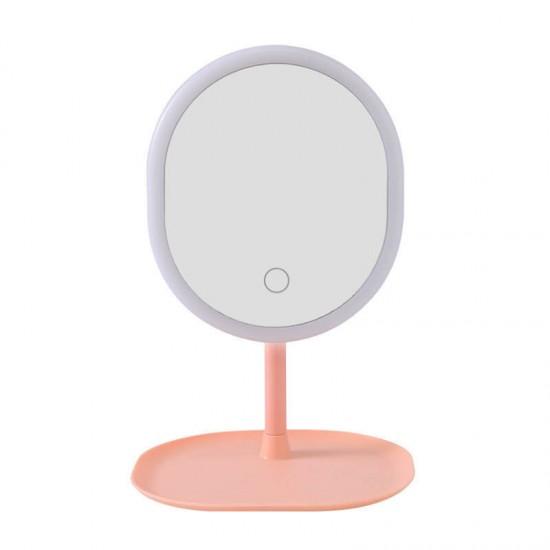 Козметично LED огледало за грим с тъч контрол и USB