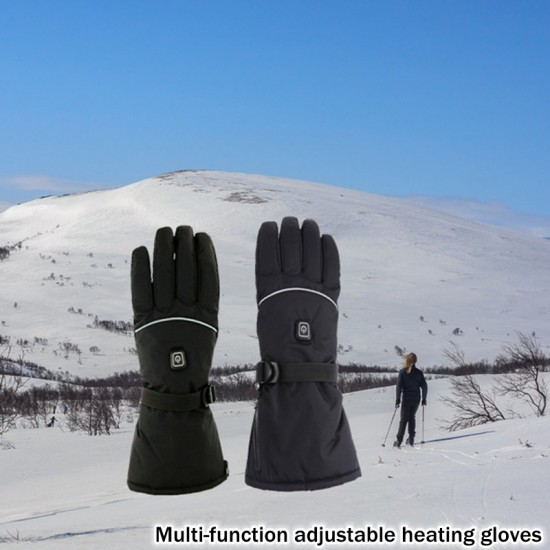Затоплящи зимни USB ръкавици на батерии